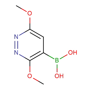 CAS 1015480-87-1 3,6-Dimethoxylpyridazine-4-boronic acid