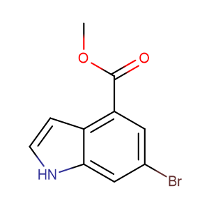 CAS 107650-22-6 Methyl 6-Bromoindole-4-carboxylate
